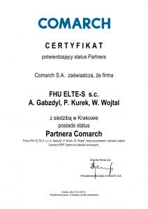 Certyfikat_potwierdzenie_statusu_Partnera ELTE Optima-1