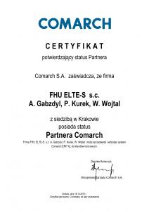Certyfikat_potwierdzenie_statusu_Partnera ELTE XL-1